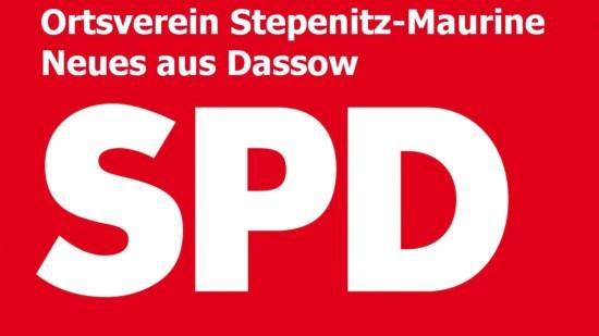 SPD Logo Ortsverein Stepenitz-Maurine, Neues aus Dassow