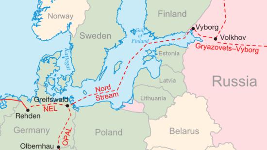 Nordstream 2 (Karte)